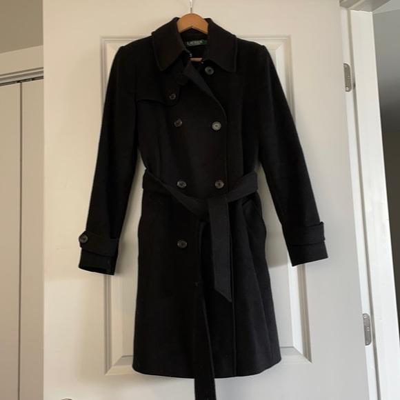Ralph Lauren pea coat trench